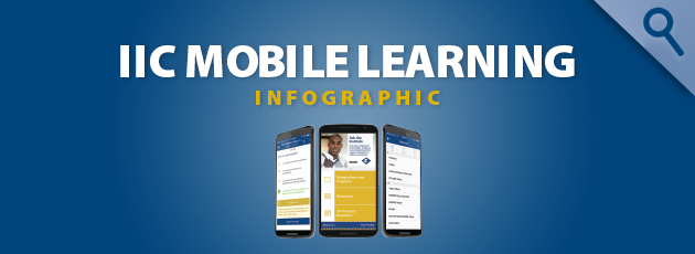 Image links to Mobile Learning infographic